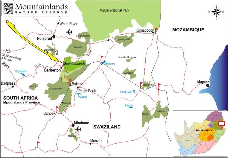Mountainlands Regional Map